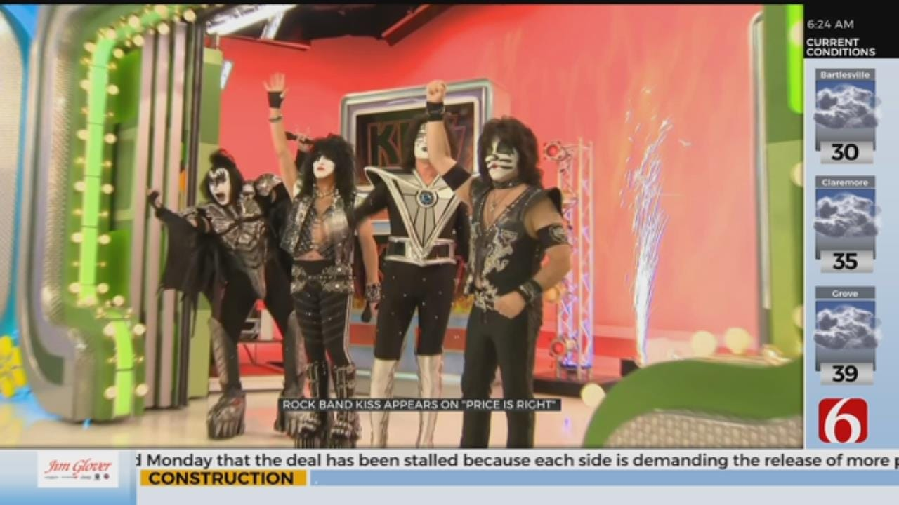 KISS Appears On 'The Price Is Right'