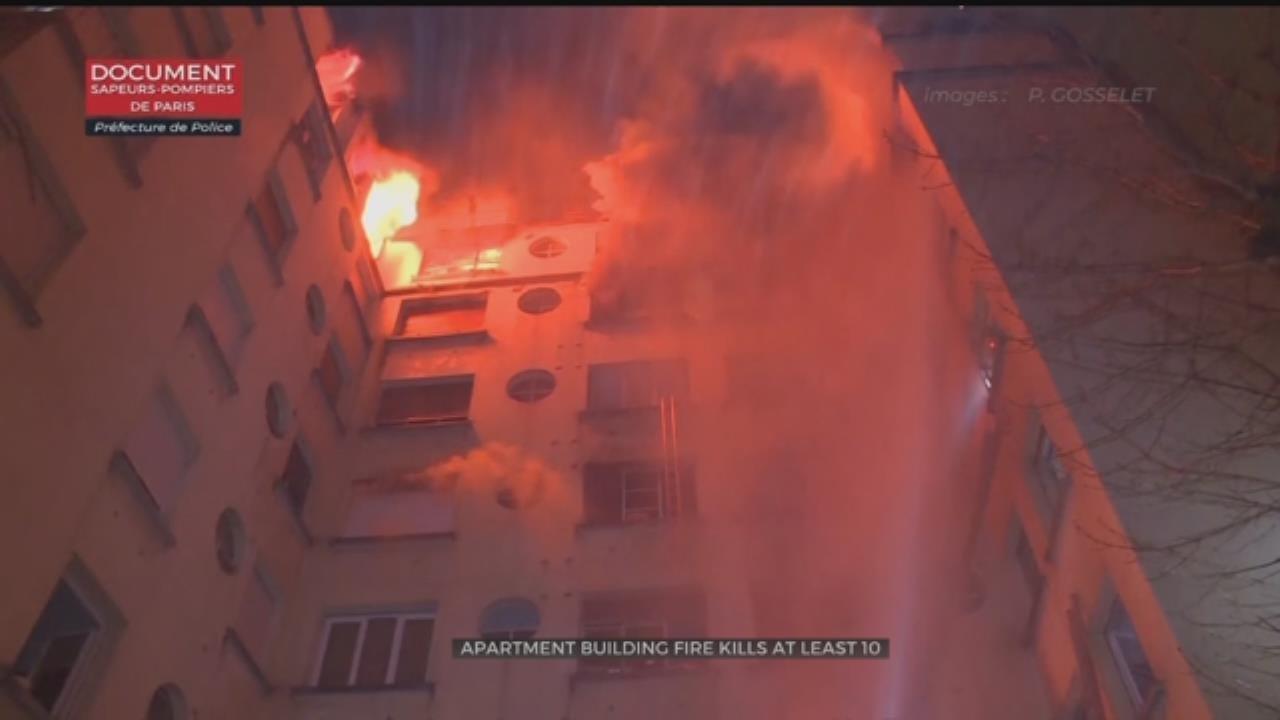Prosecutor: Deadly Paris Apartment Fire Was Arson