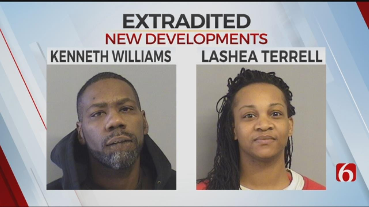 Man And Woman Charged With Murder Returned To Tulsa