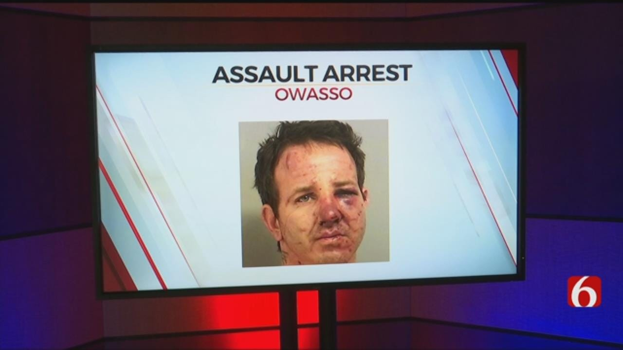 Owasso Man Suspected Of Domestic Abuse Assaults Officers
