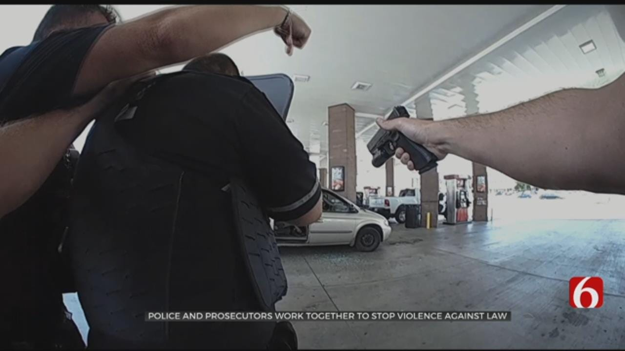 Violence Against Law Enforcement Up Across Country, Police Say