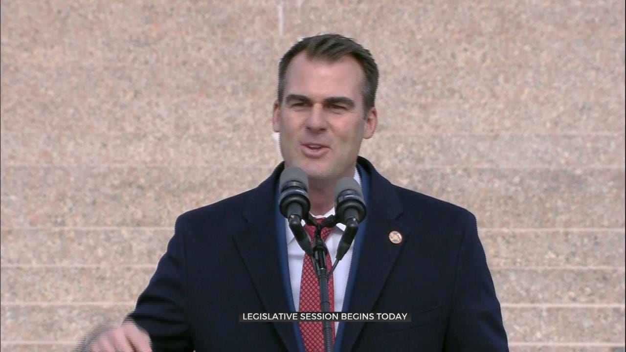 New Oklahoma Governor To Give 1st State Of The State Address