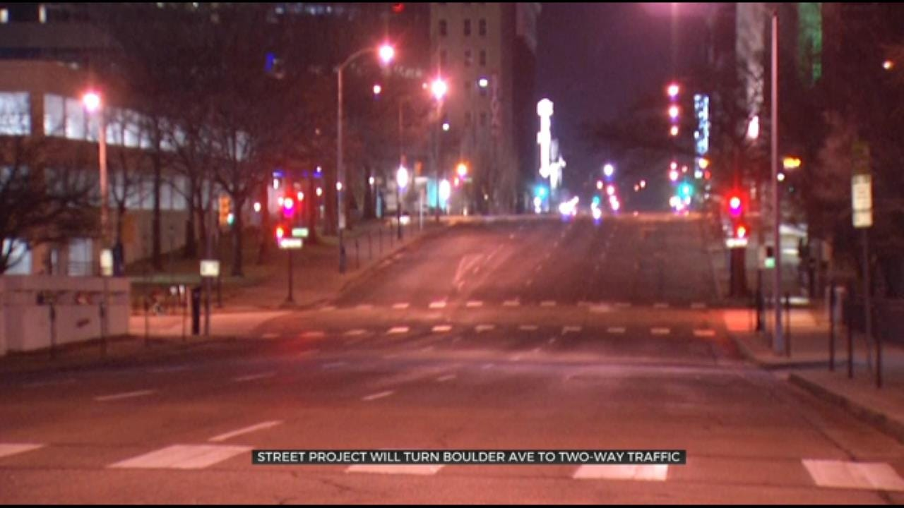 City Of Tulsa Begins Downtown Street Rehab Project