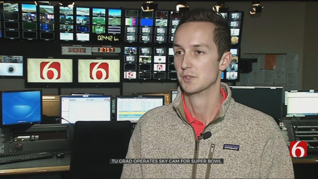 TU Grad Gives You Best Views of the Super Bowl