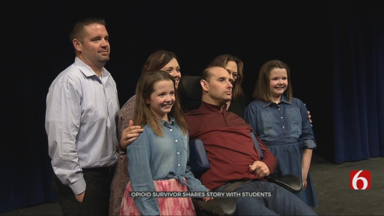 Opioid Overdose Victim Shares Story With Oklahoma Students