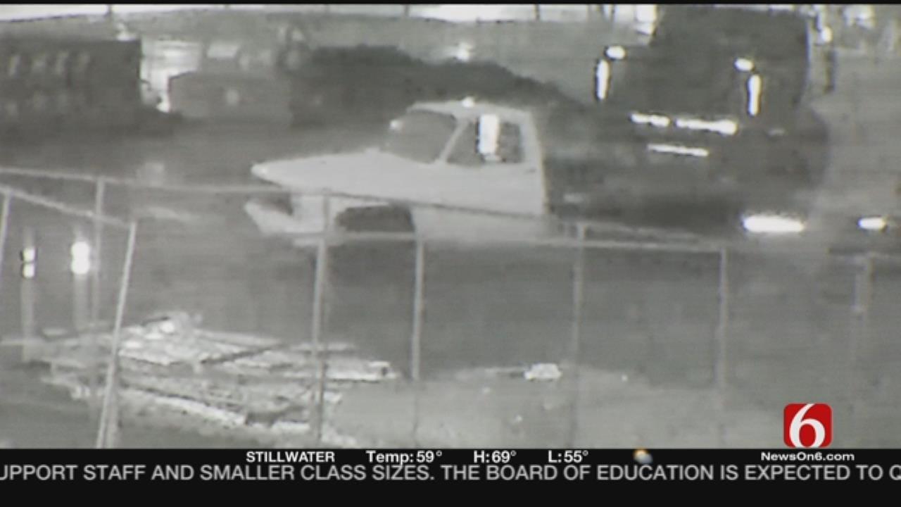 Caught On Camera: Construction Truck Stolen From Tulsa Work Site