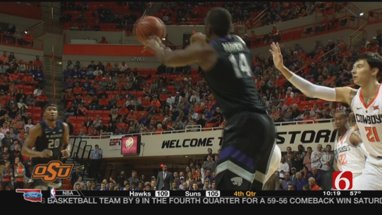 Kansas St. Shoots Past Oklahoma St. 75-57