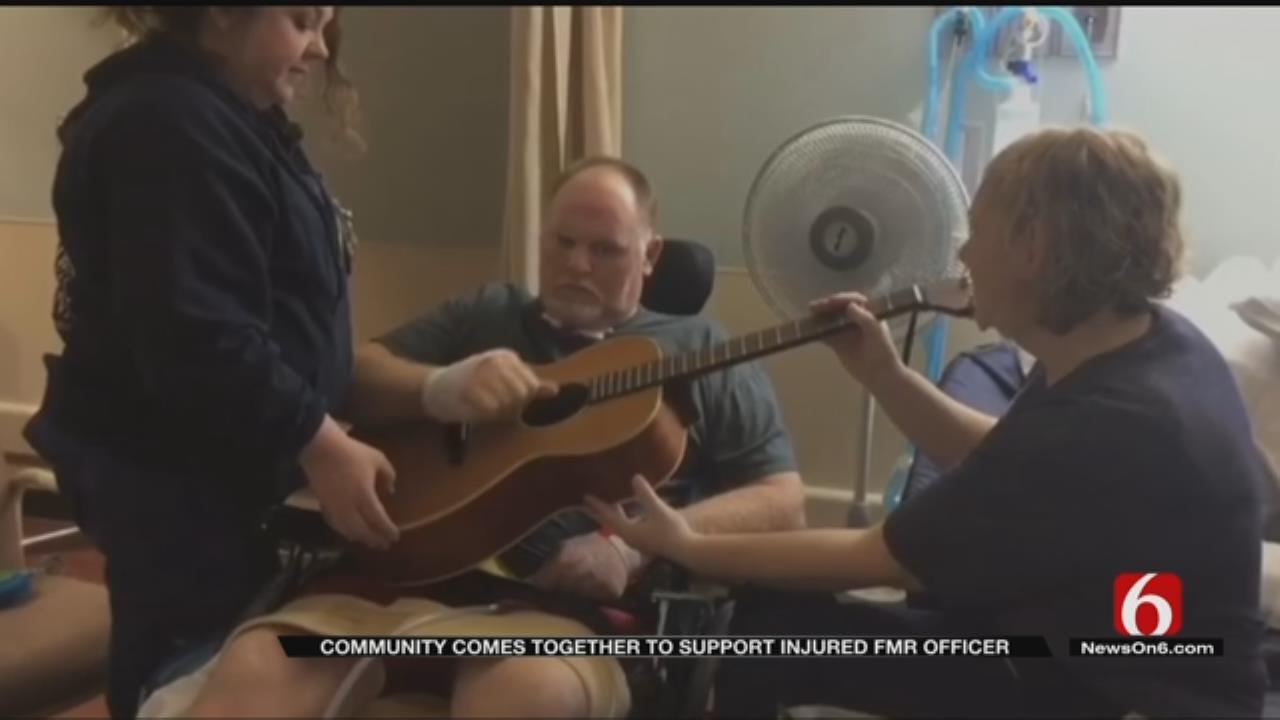 Checotah Benefit Held For Former Officer Injured In Crash