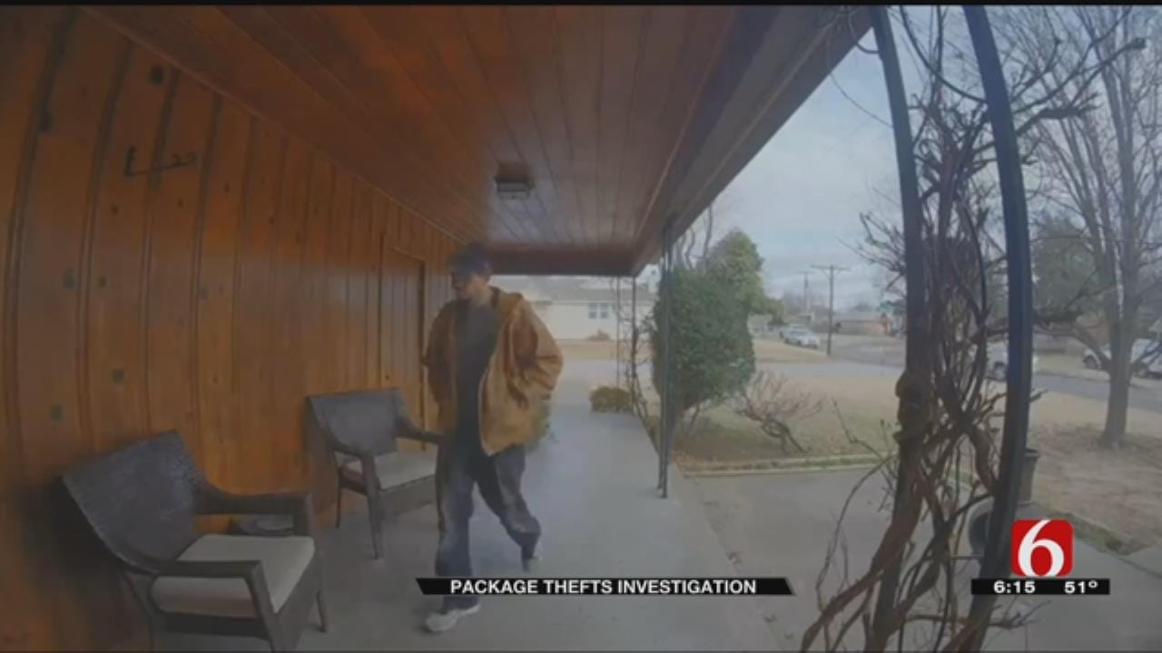 Porch Pirate Caught On Multiple Cameras In Tulsa Neighborhood