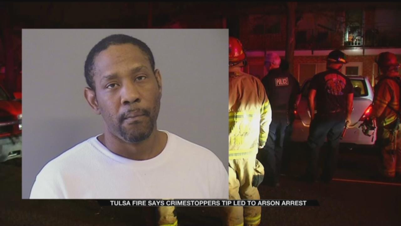 Crime Stoppers Tip Leads To Arrest Of Tulsa Arson Suspect