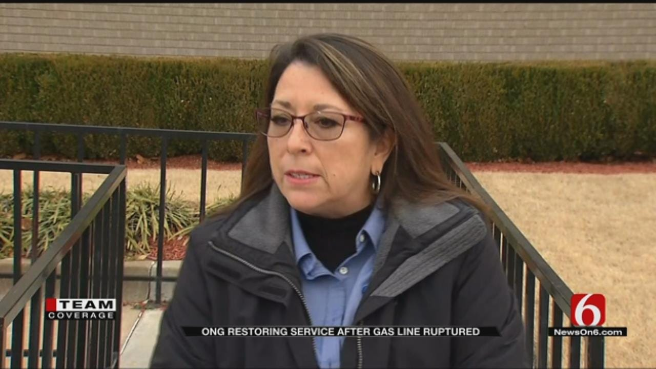 ONG Gives Update On Response To Tulsa Gas Line Explosion, Outages