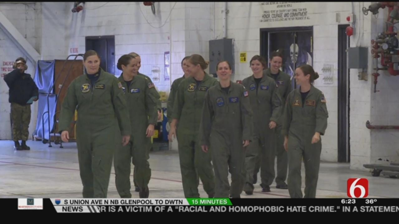 U.S. Navy To Honor Trailblazer With All-Female Flyover