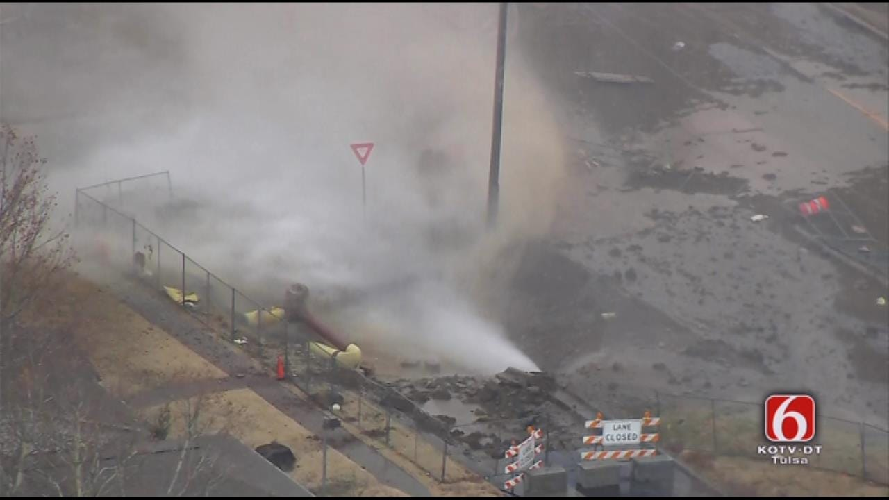Thousands Without Heat Following Tulsa Gas Line Explosion