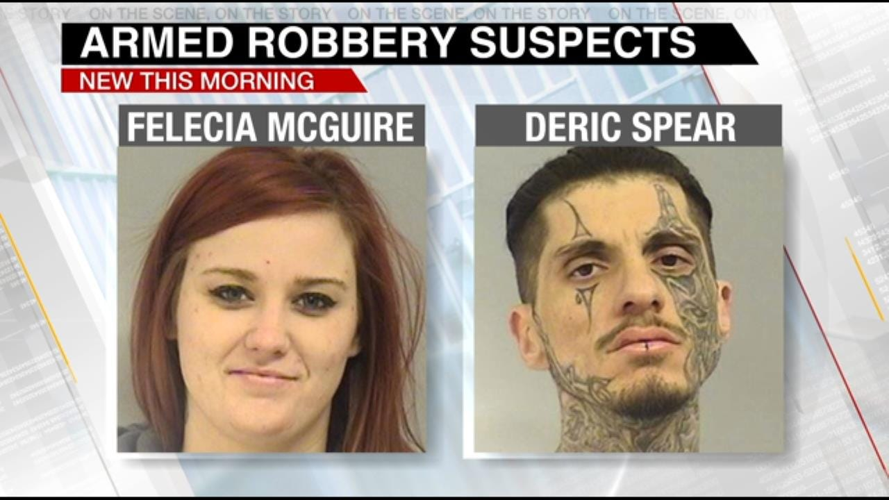 2 Arrested For Robbing, Carjacking Tulsa Man