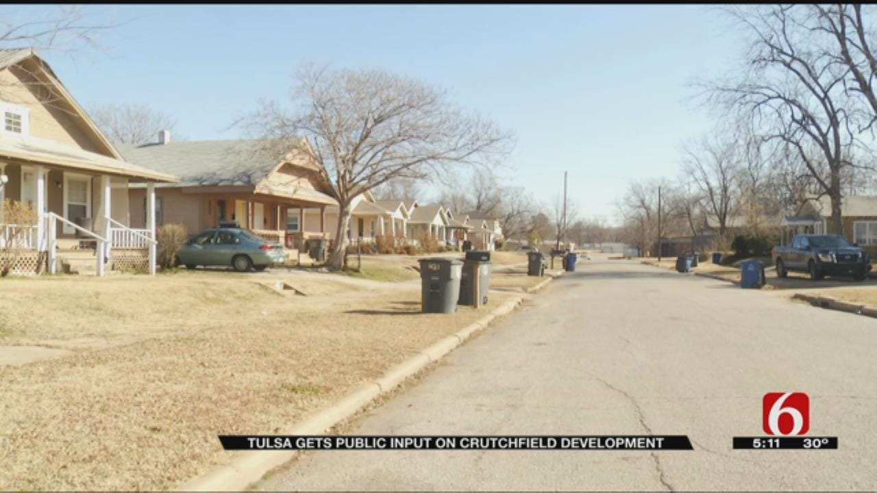 Residents Share Ideas To Improve Tulsa's Crutchfield Neighborhood