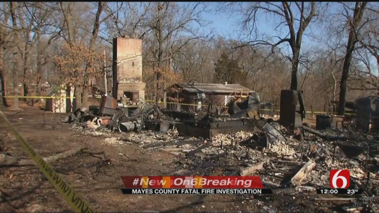 Man Dies In House Fire Near Salina