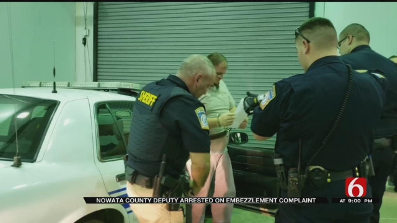 Nowata County Deputy Arrested On Complaints Of Embezzlement