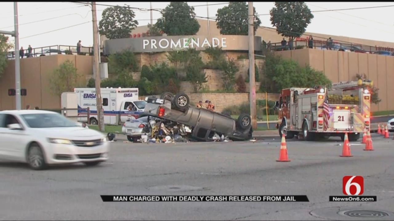 Man Receives Deferred Sentence In Fatal Tulsa Crash