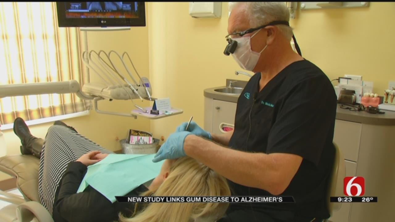 Studies Say Gum Disease May Be Linked To Alzheimer's