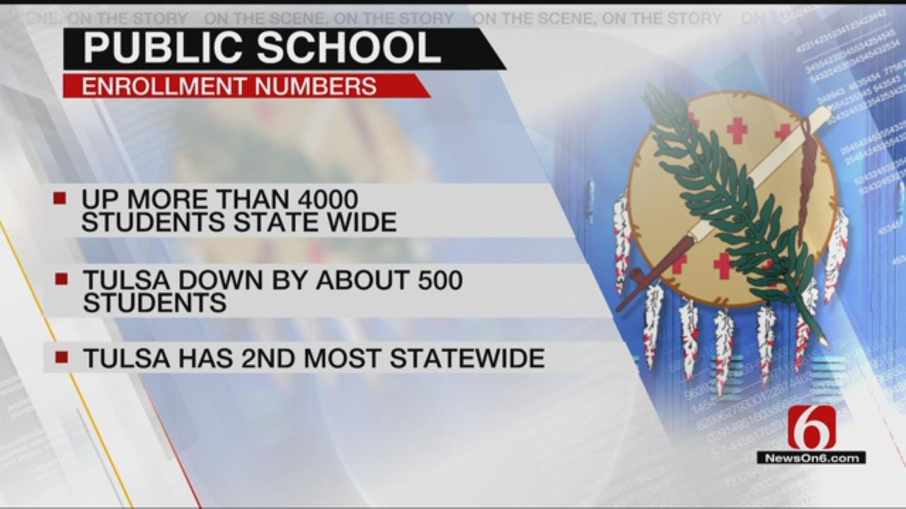 Oklahoma Enrollment Numbers Increased By Nearly 4,000 in 2018