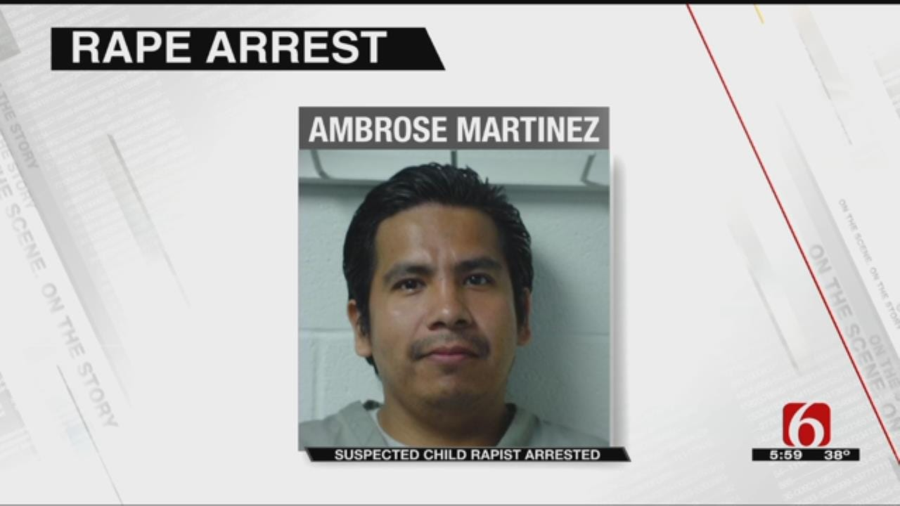 Tulsa Man Charged With Rape After 13-Year-Old Gives Birth
