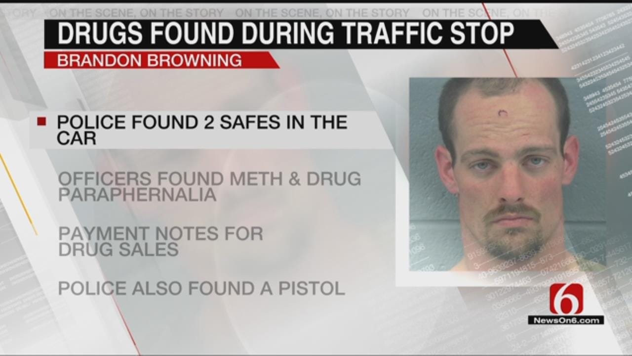 Man Arrested In Claremore Had Safes Containing Meth In His Car