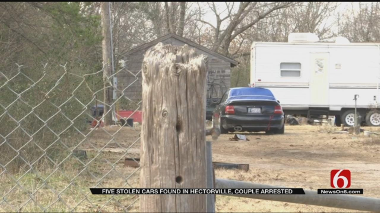 Okmulgee County Couple In Jail Accused Of Running Chop Shop