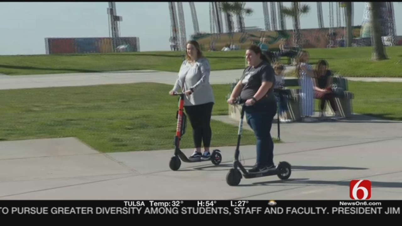 Electric Scooters Blamed For Serious Injuries
