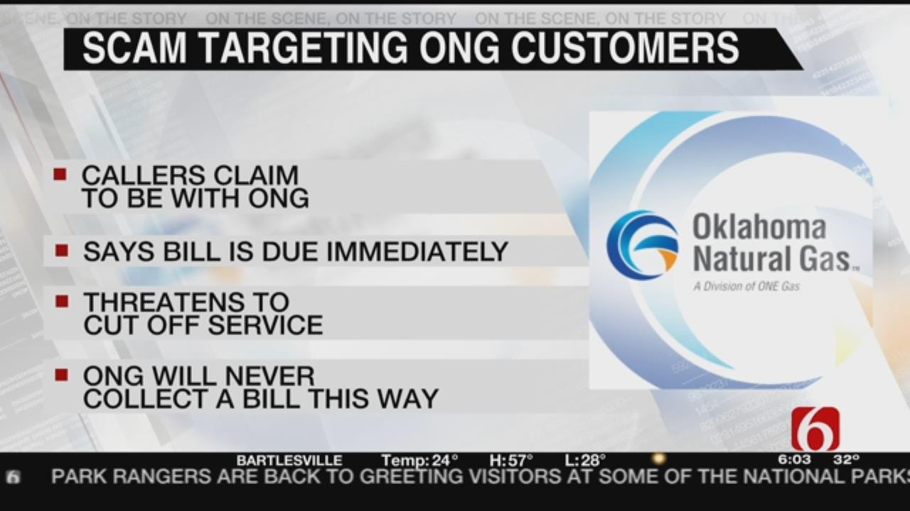 Oklahoma Natural Gas Customers Targeted By Scammers