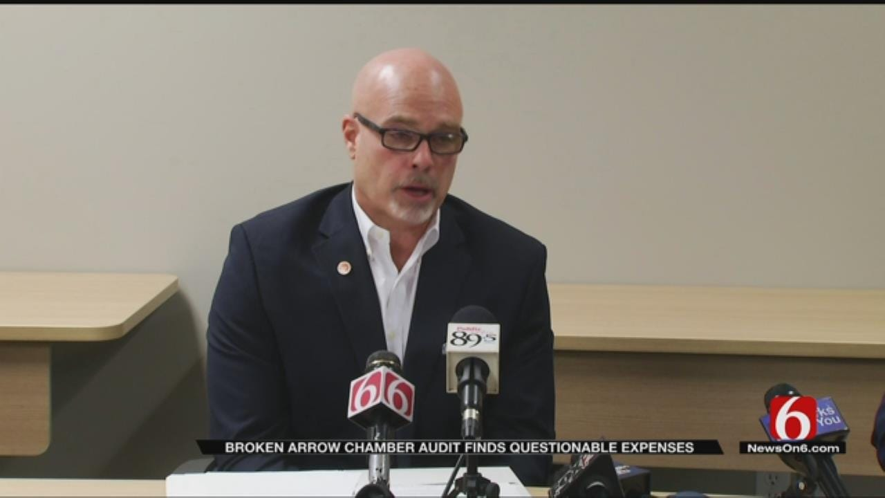 Broken Arrow Audit Revealed Personal Spending By Former Head Of Chamber Of Commerce