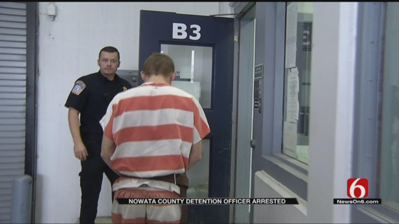 Nowata Detention Officer Arrested