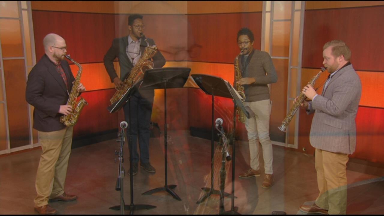 Kenari Saxophone Quartet On 6 In The Morning
