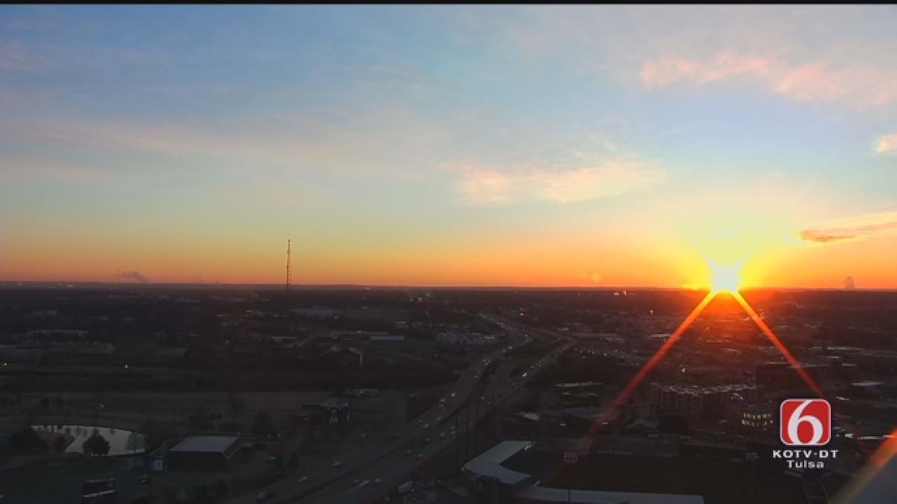 Tulsa Sunrise On January 25, 2019