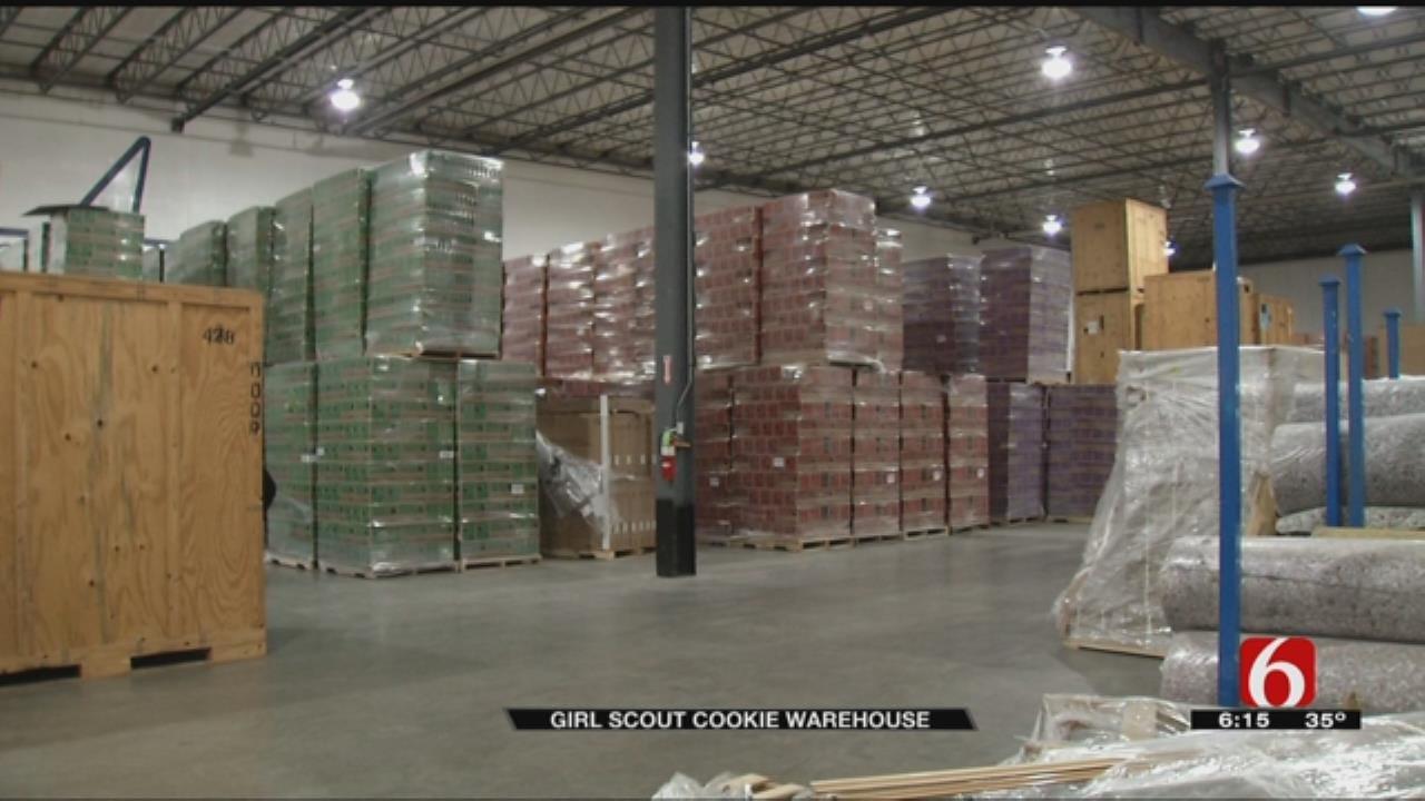 Broken Arrow Warehouse Is Full Of Girl Scout Cookies