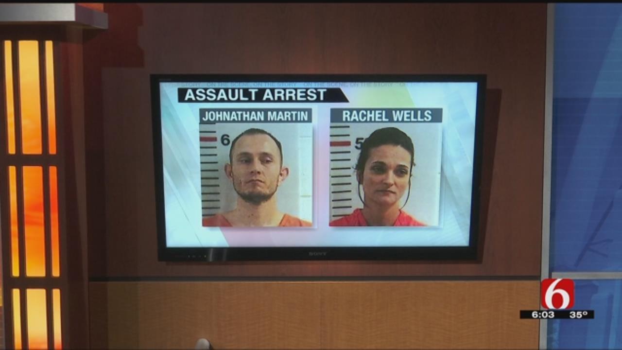 Two In Custody After Assault Near Big Cedar
