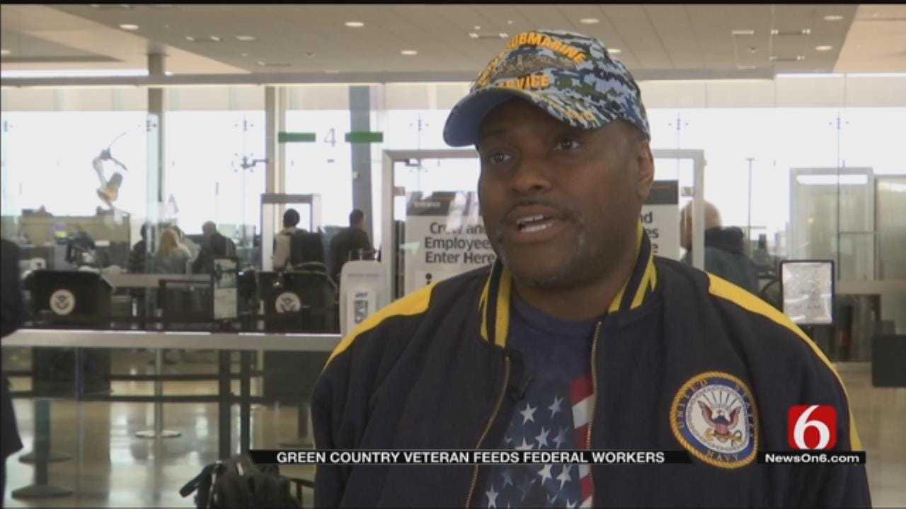 Veteran Makes Meals For Tulsa Furloughed Workers