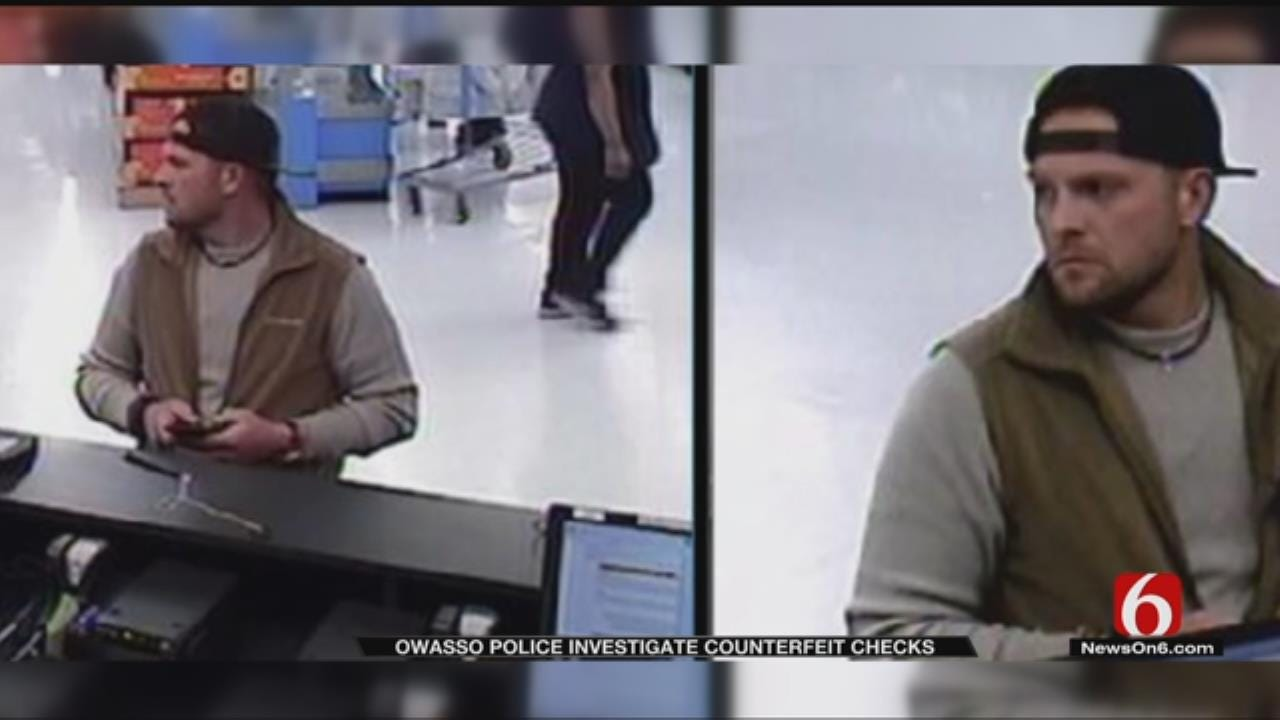 Owasso Police Search For Men Accused Of Using Counterfeit Checks