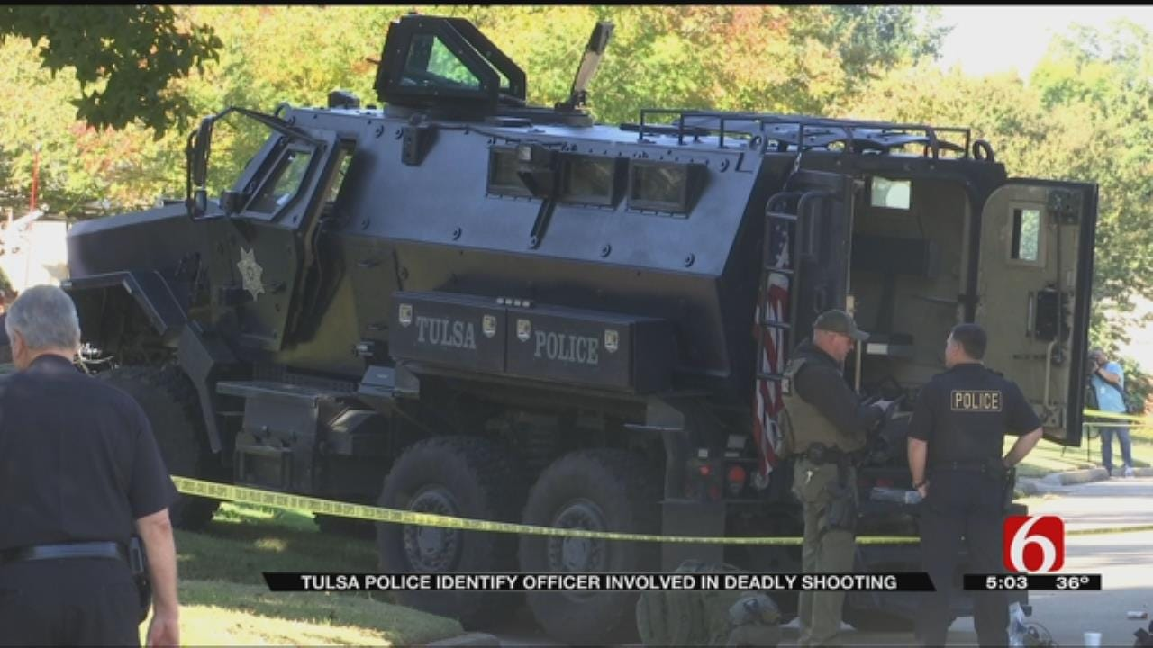 Tulsa Police Identify Officer Involved In 2018 Shooting