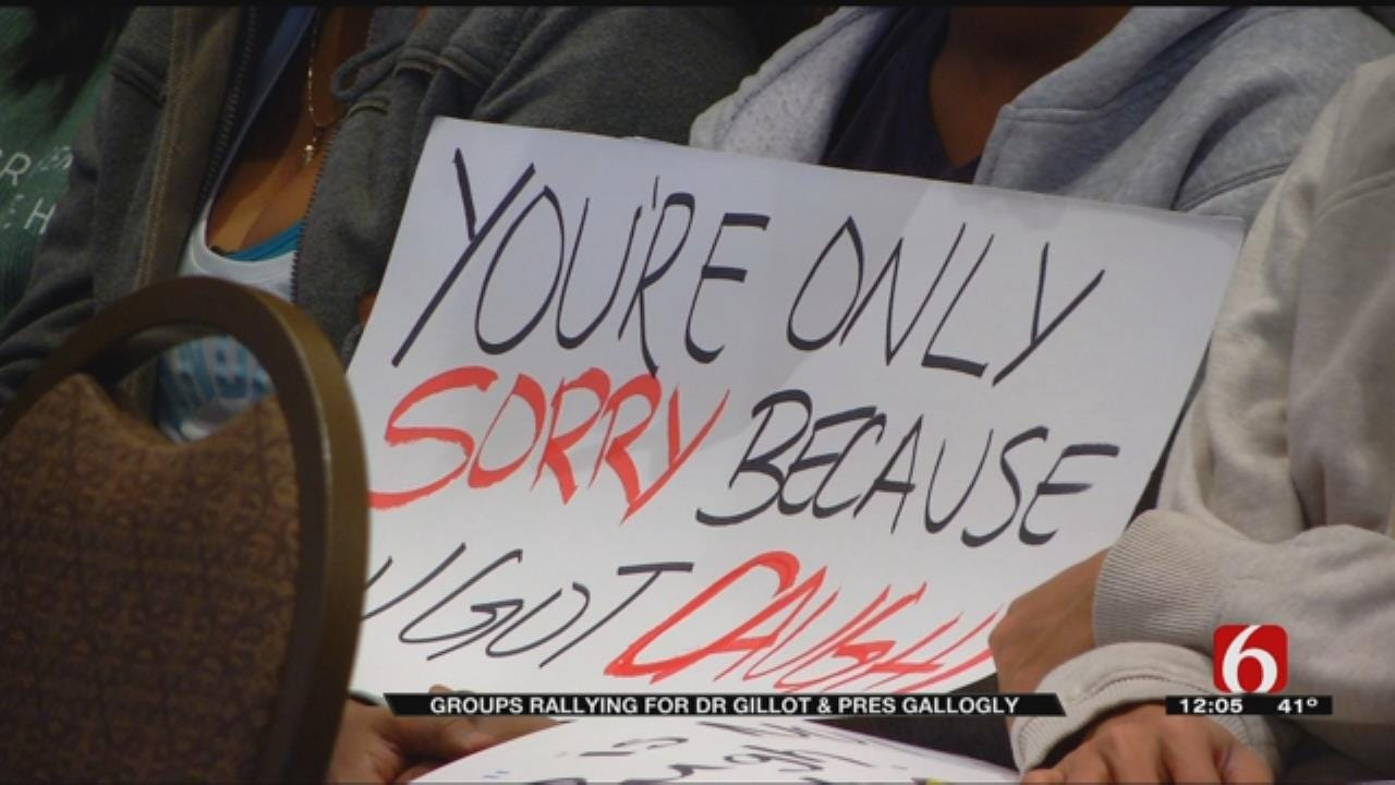 OU Students Hold Rallies On Campus, Question Leadership