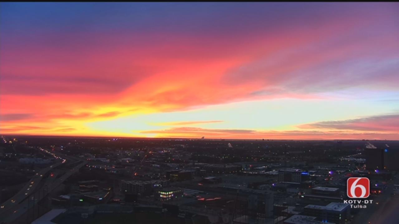 Tulsa Wakes Up To Spectacular Sunrise
