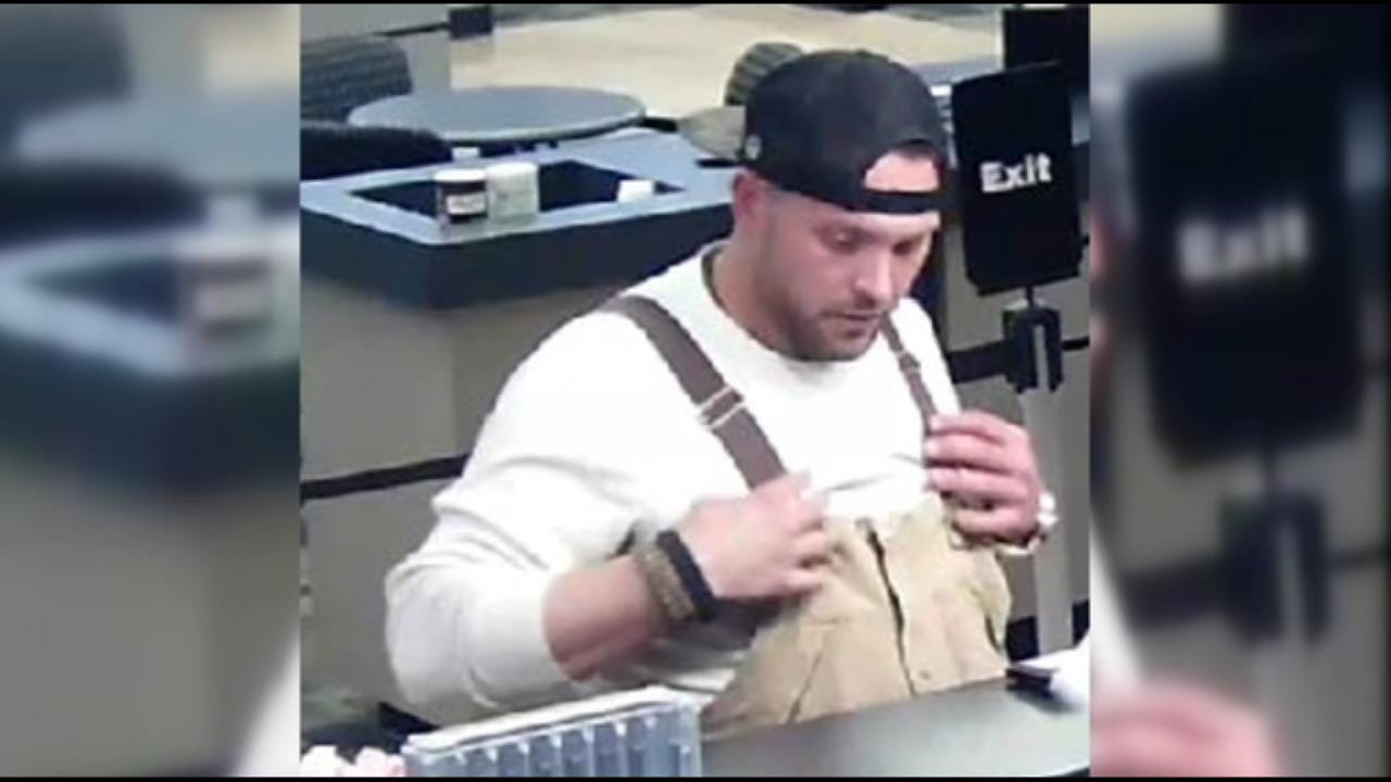 Surveillance Pictures Released In Owasso Counterfeit Check Case