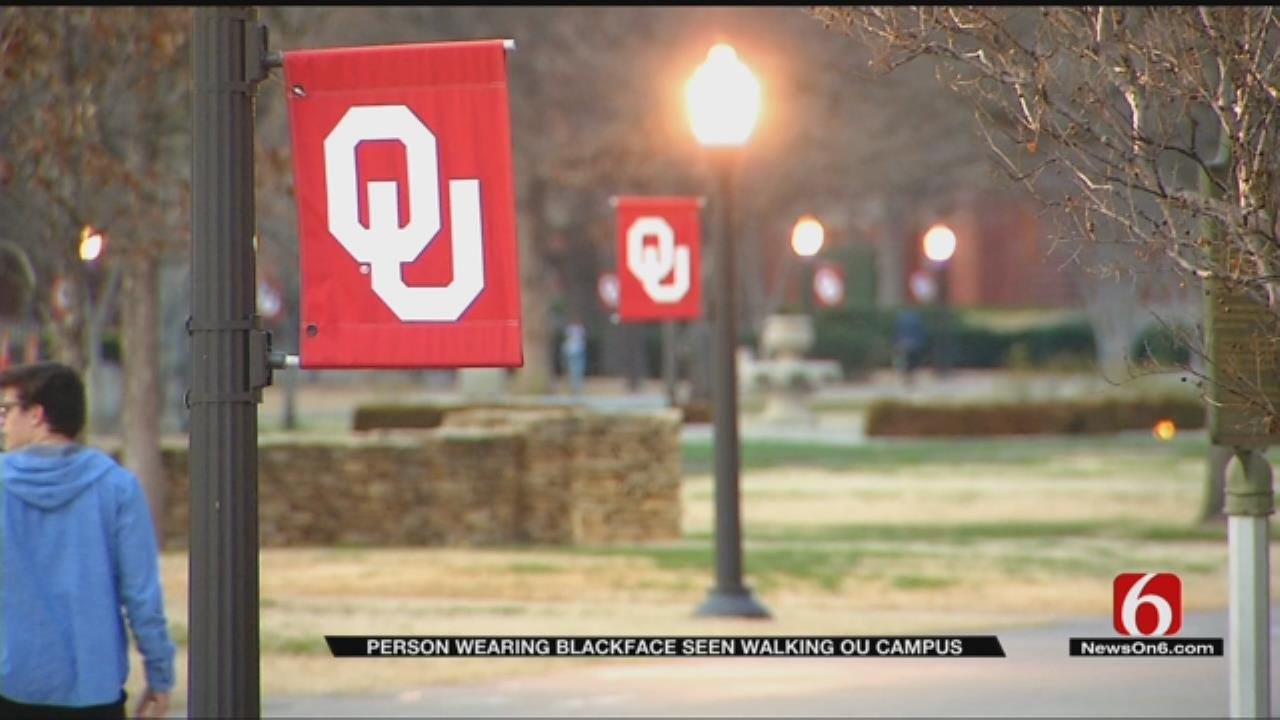 OU Student Who Recorded Man In Blackface Says University 'Needs To Do Better'