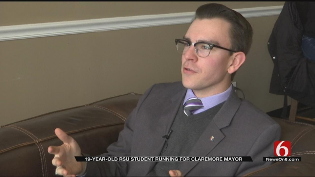 19-Year-Old RSU Student To Run For Mayor Of Claremore