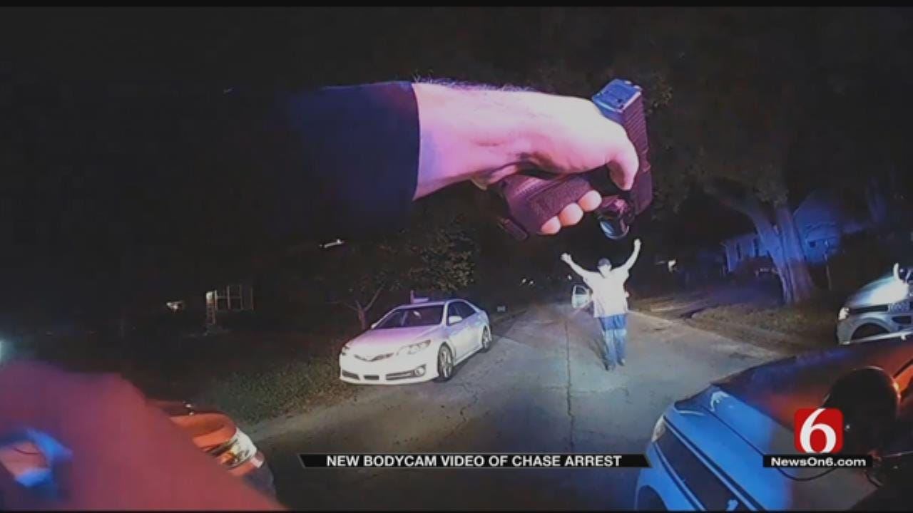 Tulsa Police Release Bodycam Video In October Chase