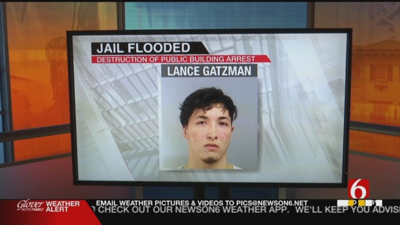 Glenpool Police Say Inmate Flooded Jail Cell