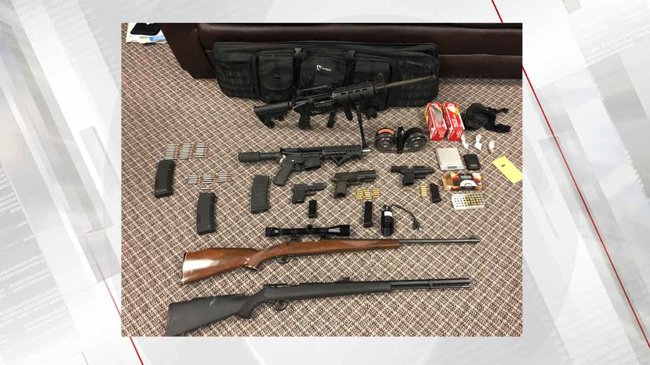 2 Arrested And Several Weapons Seized In Muskogee Drug Bust