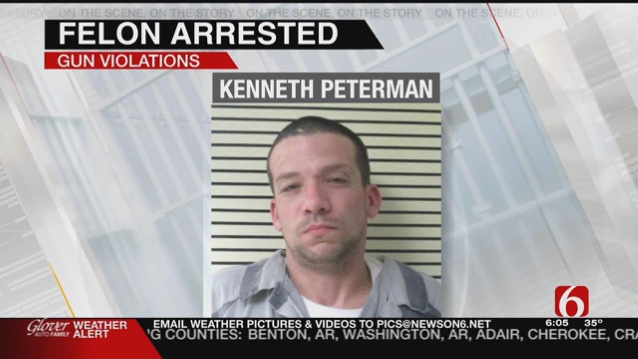 Stolen Weapons Seized During Wagoner County Arrest