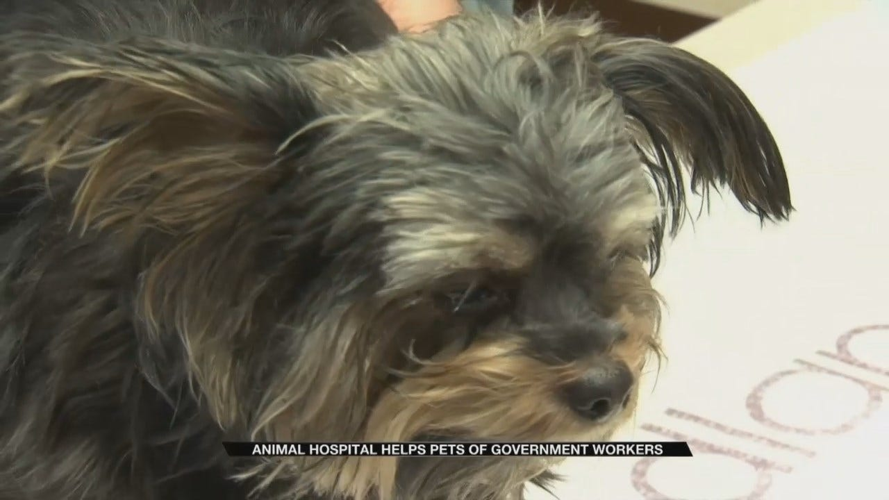 Tulsa Veterinary Hospital Offers Help To Workers Affected By Shutdown