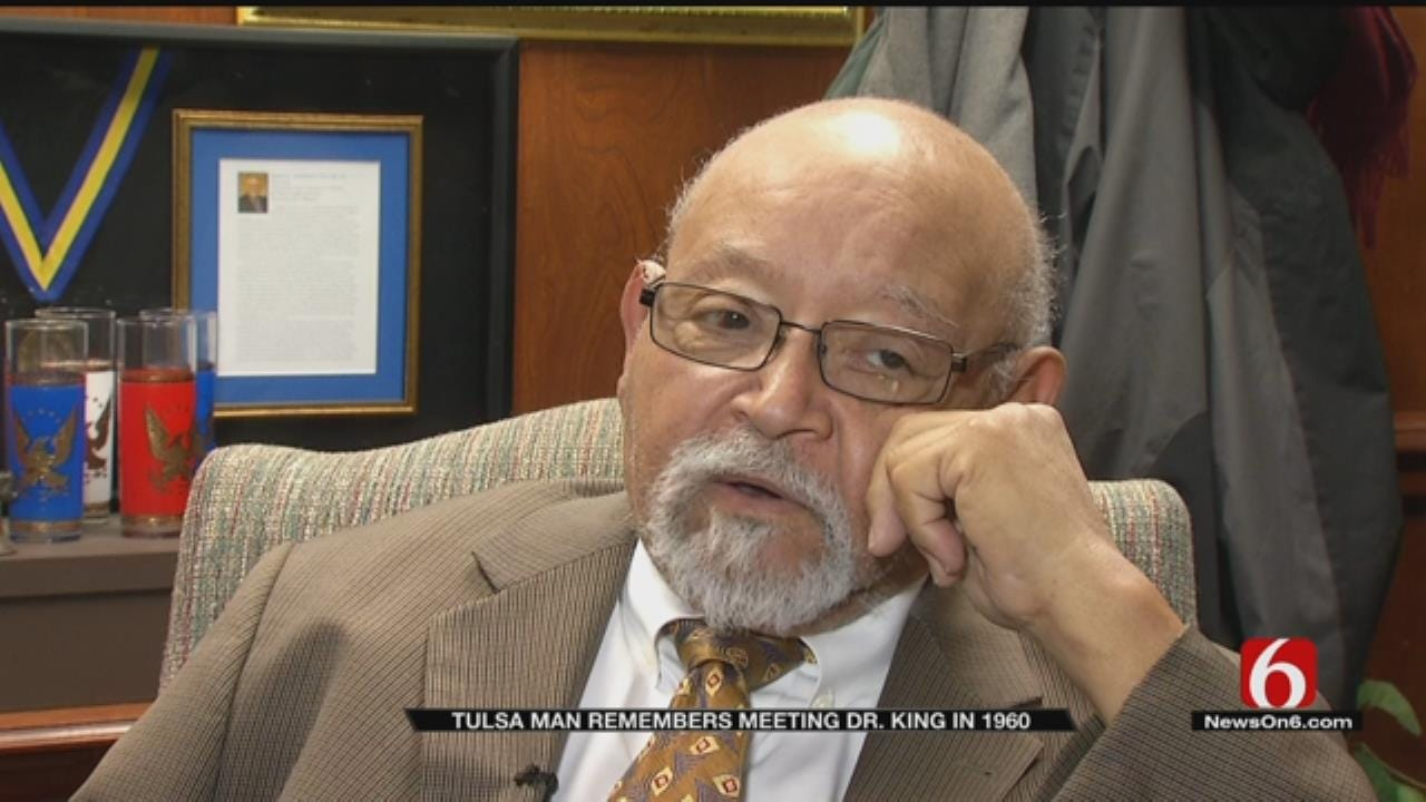 Tulsa Man Who Met Dr. King Reflects On The Civil Rights Icon
