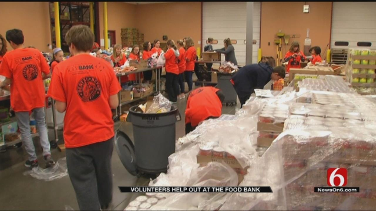 Volunteers Give Back With Food Bank's MLK Day Of Service